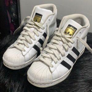 Adidas Superstar High Tops